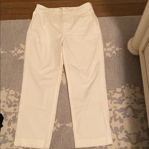 Everlane high waisted trousers pants